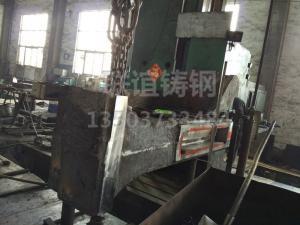 2吨电液锤机架9.5吨