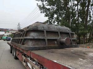 山东某客户订购大渣盆26吨若干件